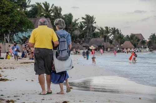 Immagine gratuita di amanti della natura, camminando, frequentatori della spiaggia