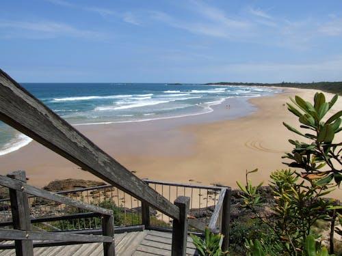 Free stock photo of beach, blue sky, landscape