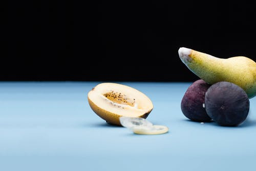 Kostenloses Stock Foto zu begrifflich, früchte, geschnitten