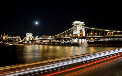 交通, 交通系統, 光迹, 匈牙利 的 免费素材照片