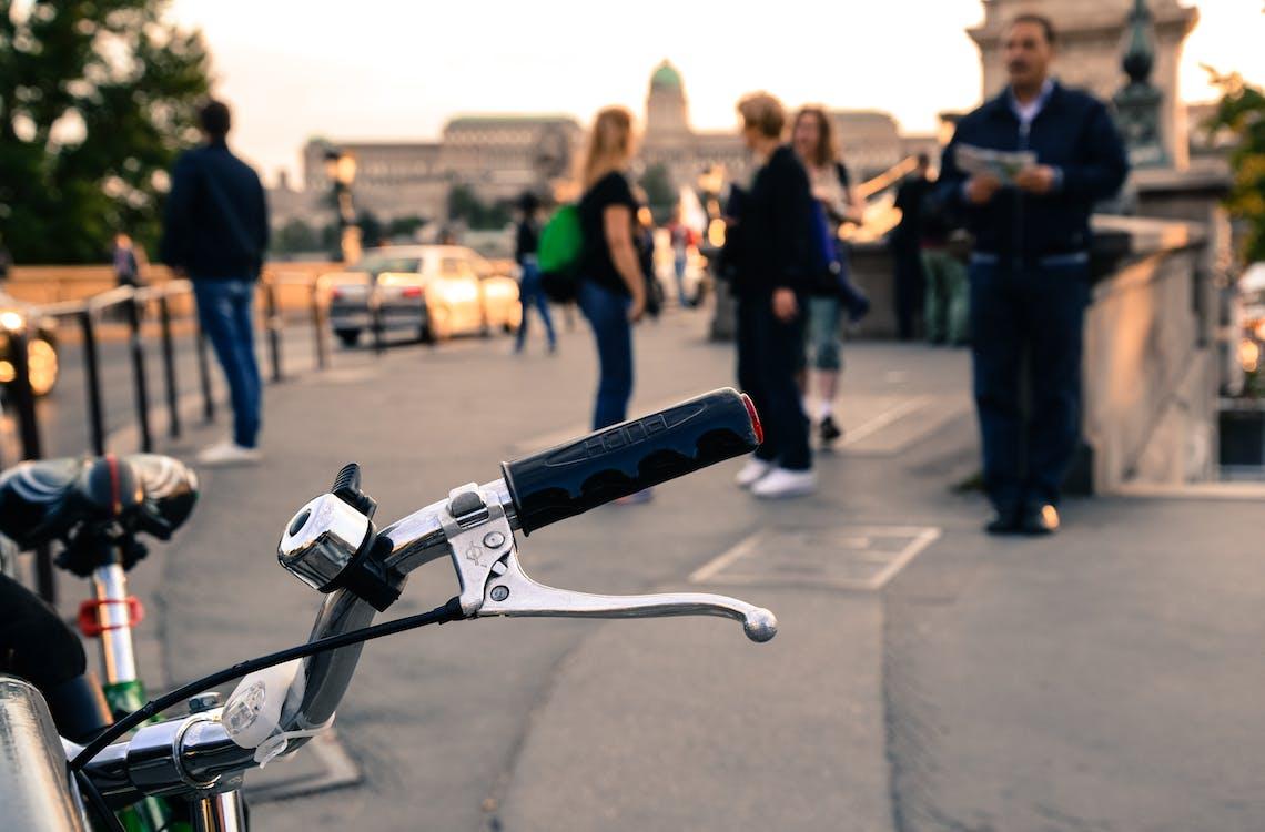 Budapešť, chůze, dav