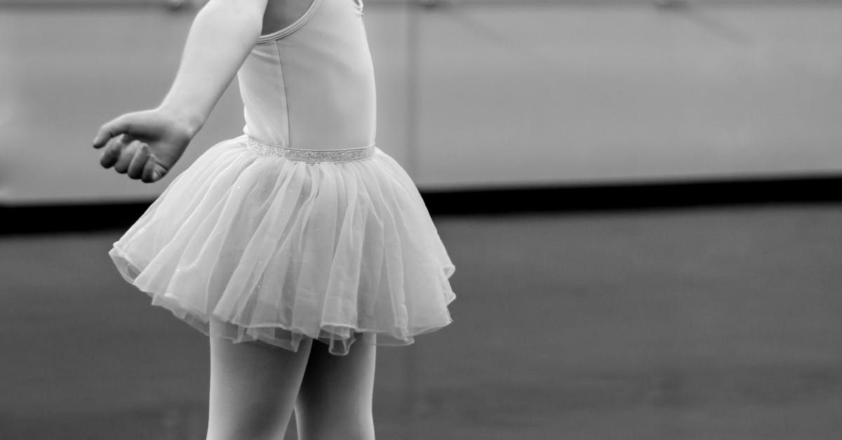 Grayscale Photography Of Girl Doing Ballet 183 Free Stock Photo