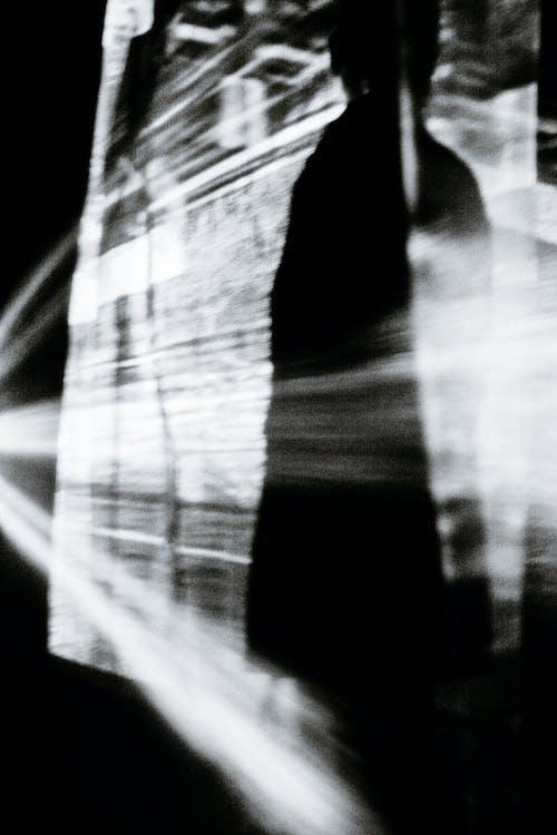 Fotos de stock gratuitas de abstracto, anónimo, blanco y negro