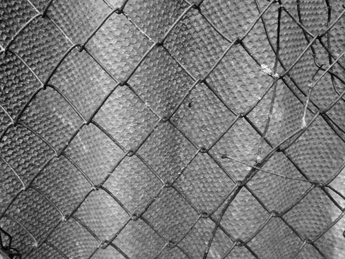 Free stock photo of abstract, barrier, black and white background
