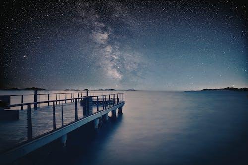 Immagine gratuita di astronomia, fotografia notturna, lunga esposizione