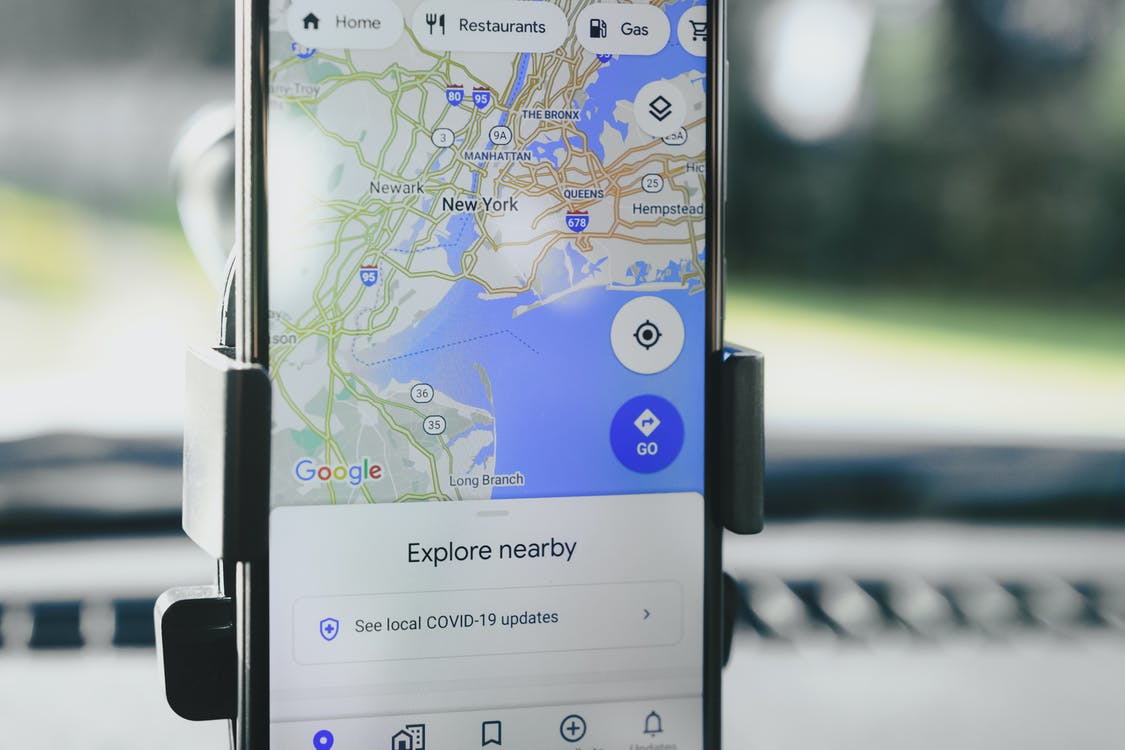 Black Samsung Galaxy Smartphone on White Surface