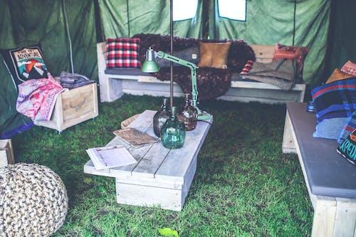 bağbozumu, çadır, dekor, eskiye dönüş içeren Ücretsiz stok fotoğraf