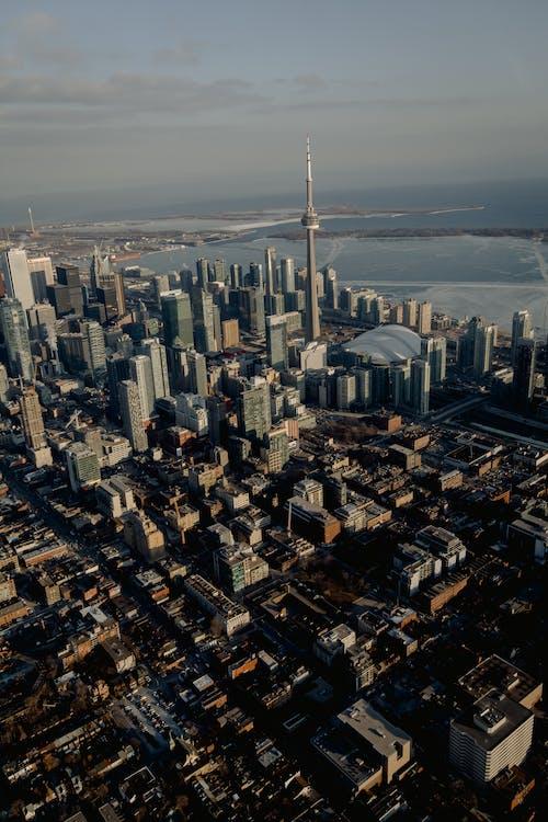 Fotos de stock gratuitas de aéreo, al aire libre, arquitectura, calle