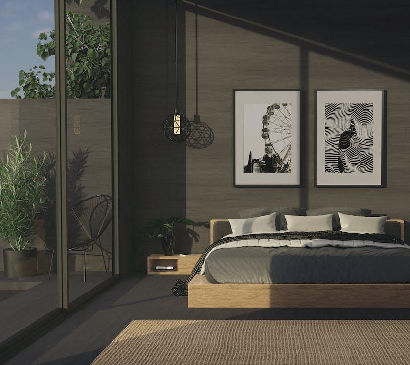 Fotos de stock gratuitas de adentro, alfombra, almohadas
