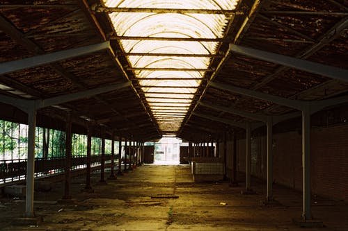 An Old Abandoned Warehouse