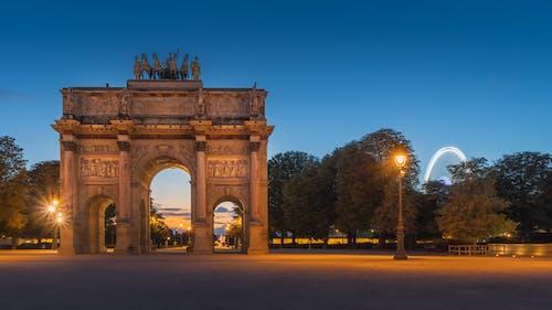 Immagine gratuita di alba, architettura, arco