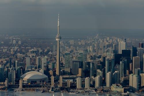 Fotos de stock gratuitas de aéreo, amanecer, anochecer, arquitectura