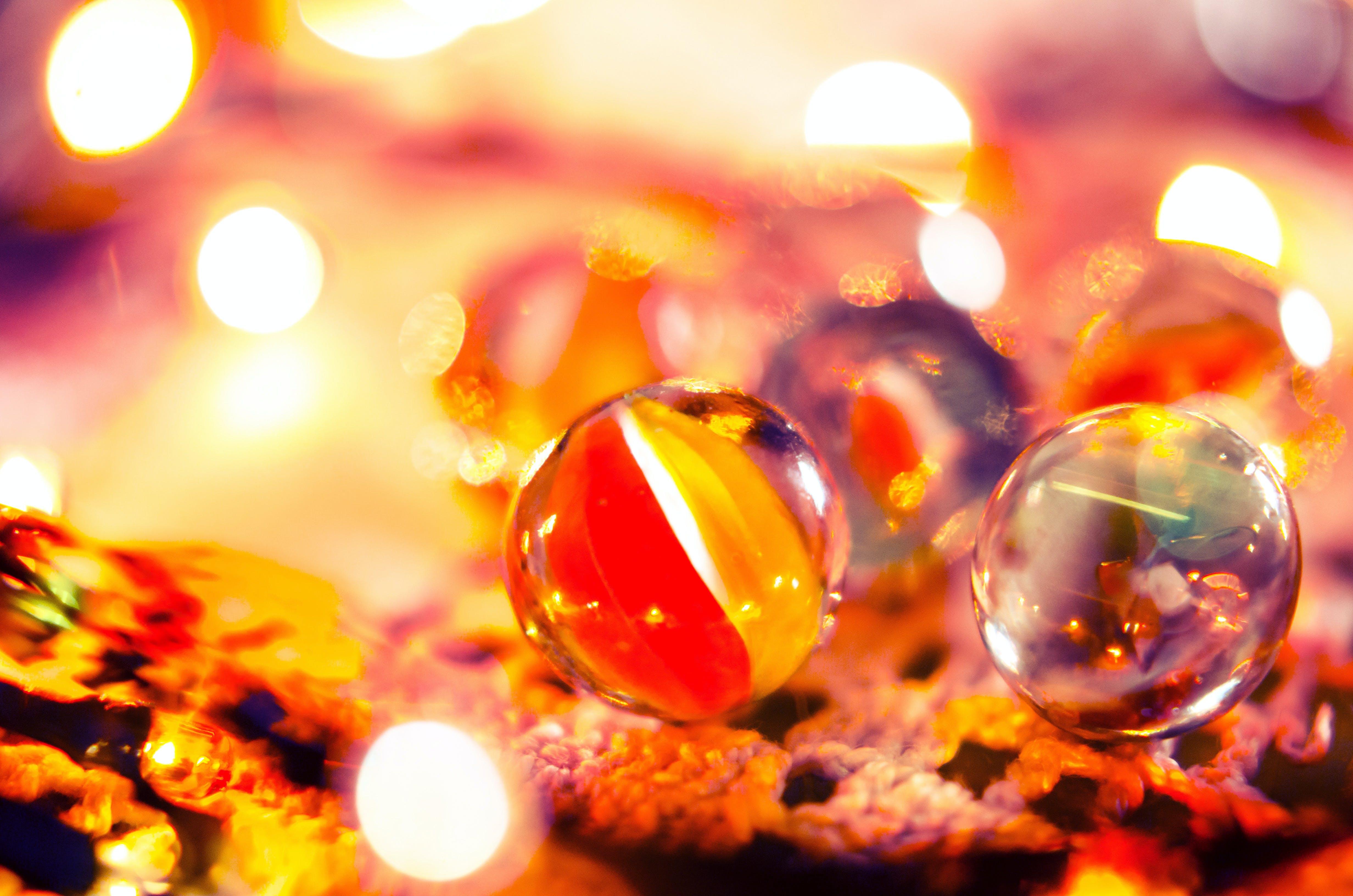 Marble Balls Close-up Photo