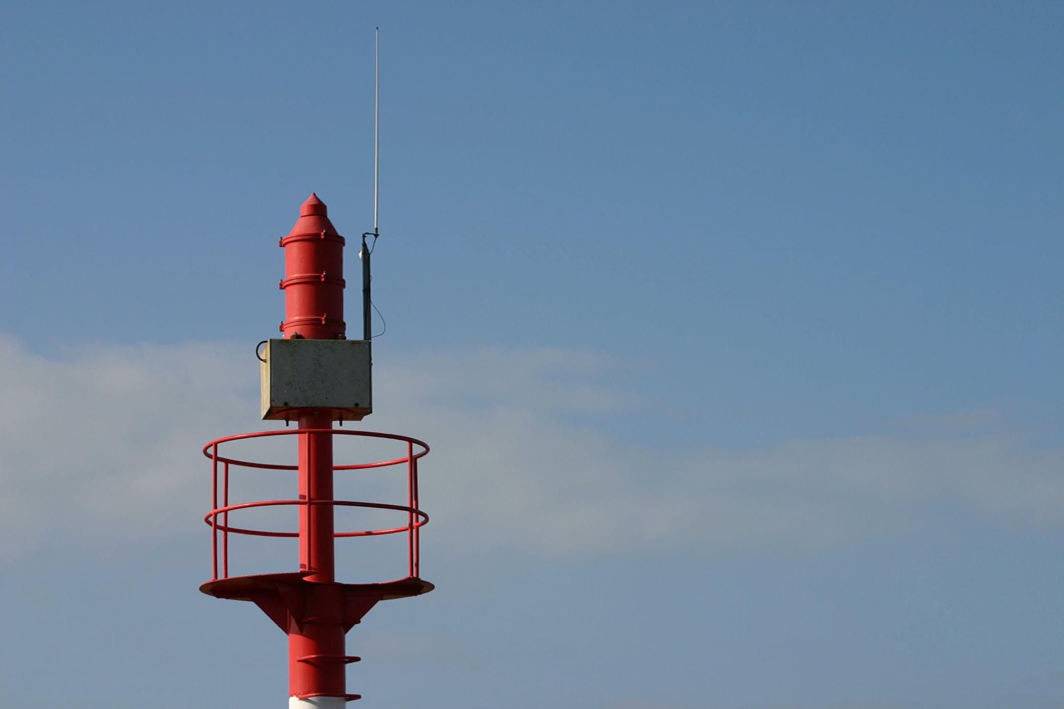 Free stock photo of radar bord de mer