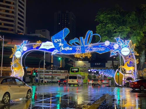 Free stock photo of christmas at orchard road