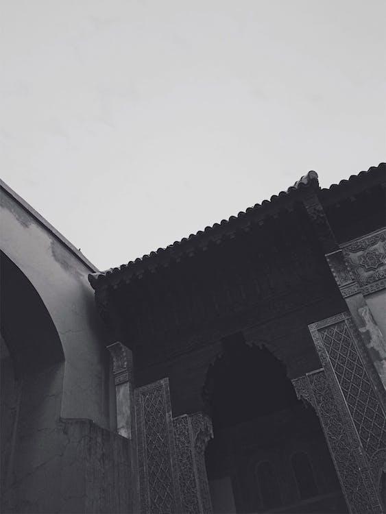 architektur, marrakesch