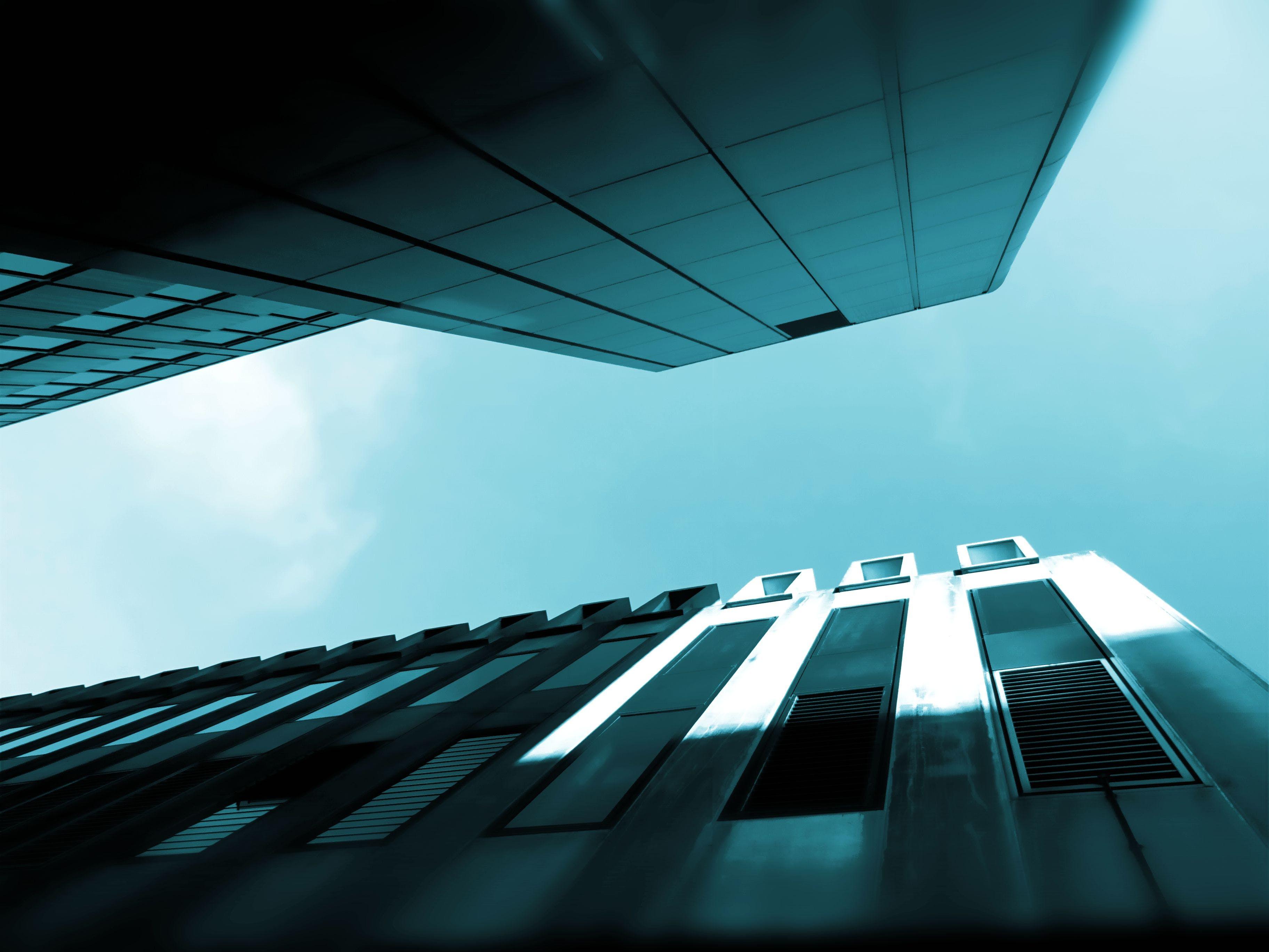 về bầu trời, các tòa nhà, cảnh quan thành phố, chén