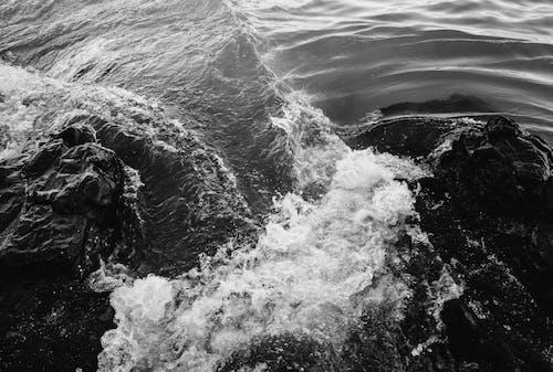 Crashing Waves on the Rocky Shore
