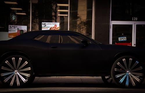 Free stock photo of black, black car, Black Matte, muscle car