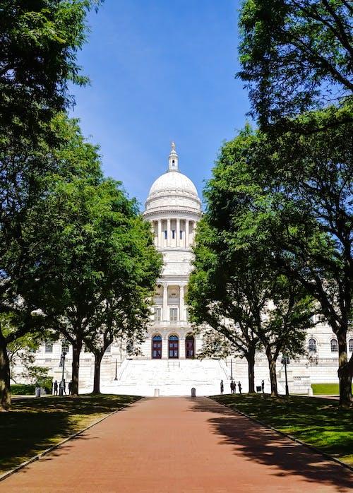 Photos gratuites de arbres, Capitole, dôme