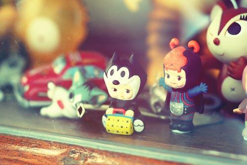 Several Plastic Toys