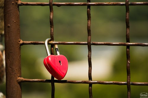 Free stock photo of lock, love