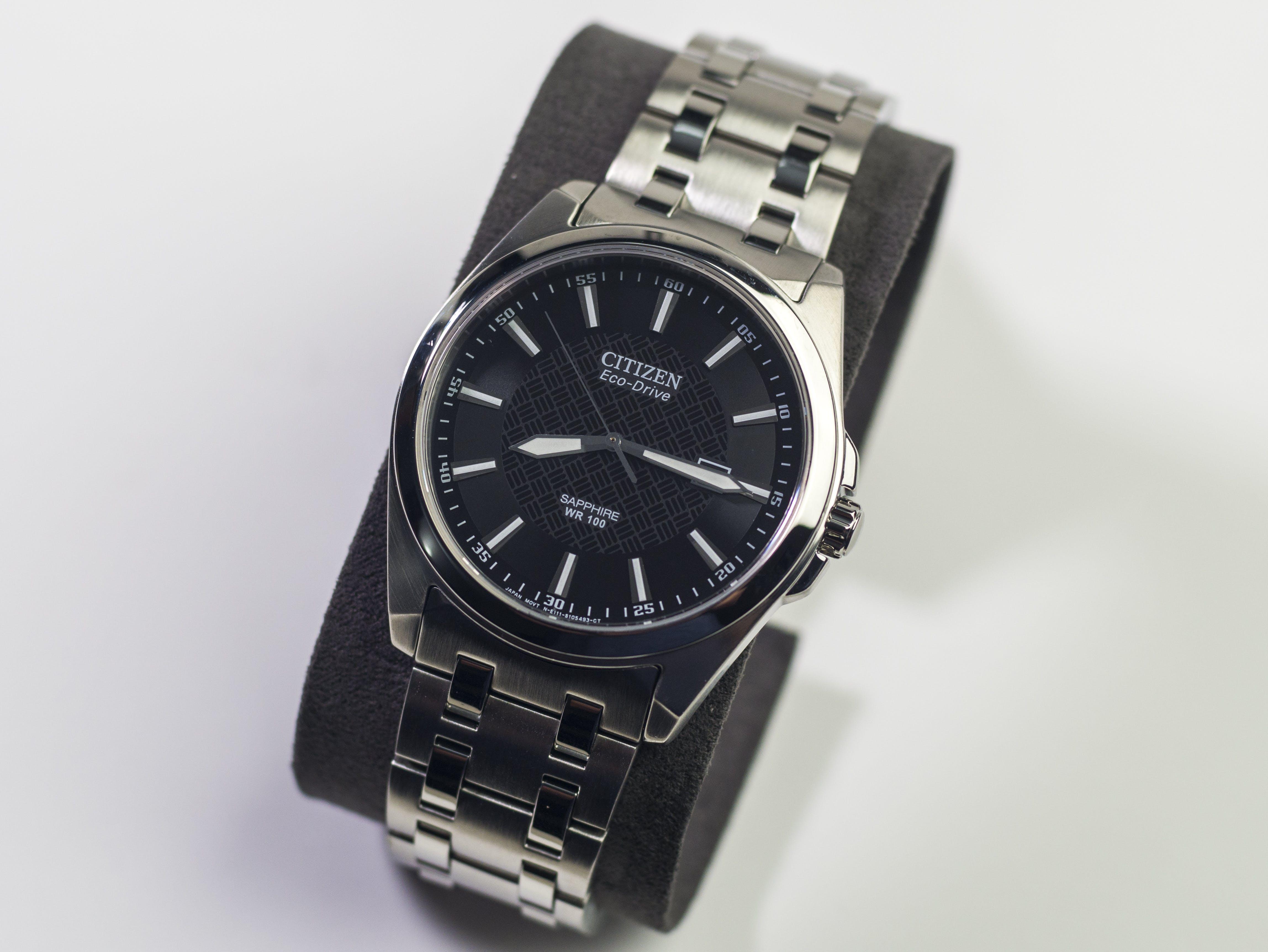 Analog watch, Analogue, chrome