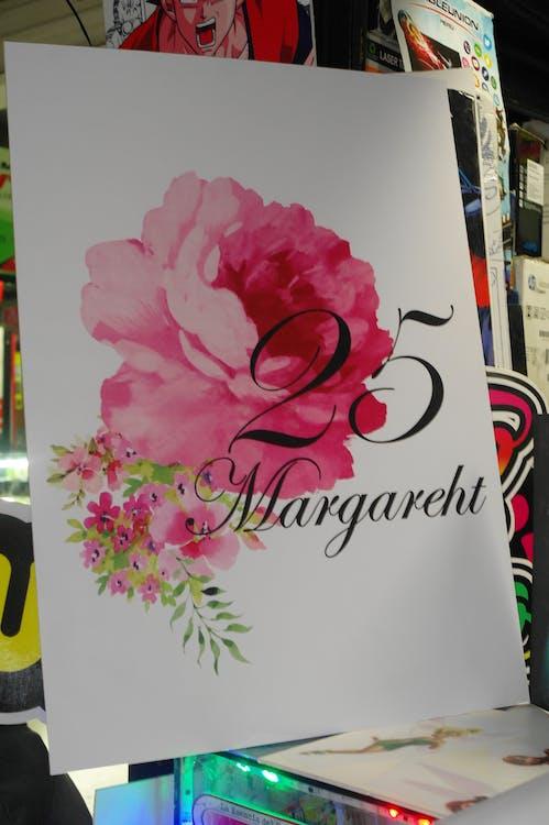 Free stock photo of 25years, cuadro, rosas