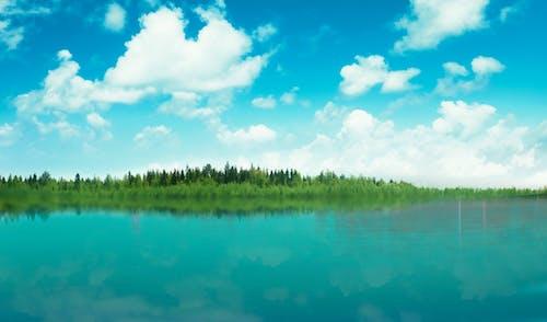 Fotobanka sbezplatnými fotkami na tému modrá obloha