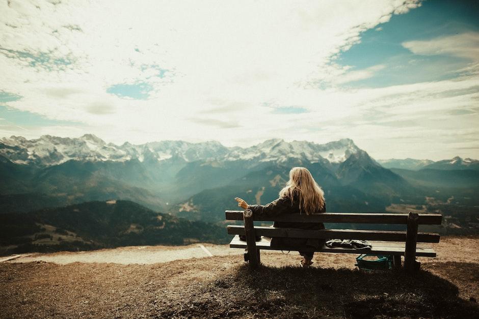 bench, blonde, bright