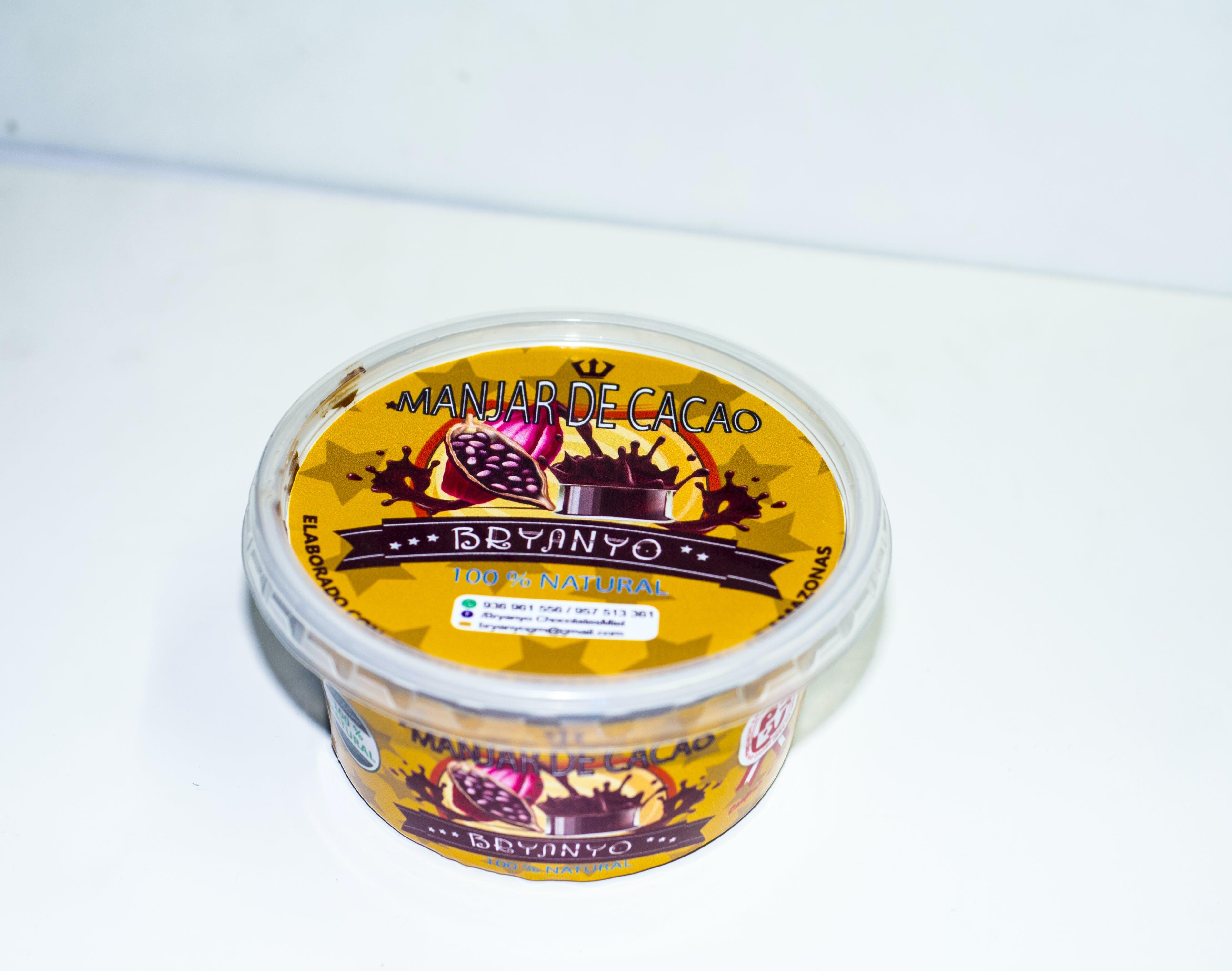 Free stock photo of manjar de cacao chocolate branyo peru