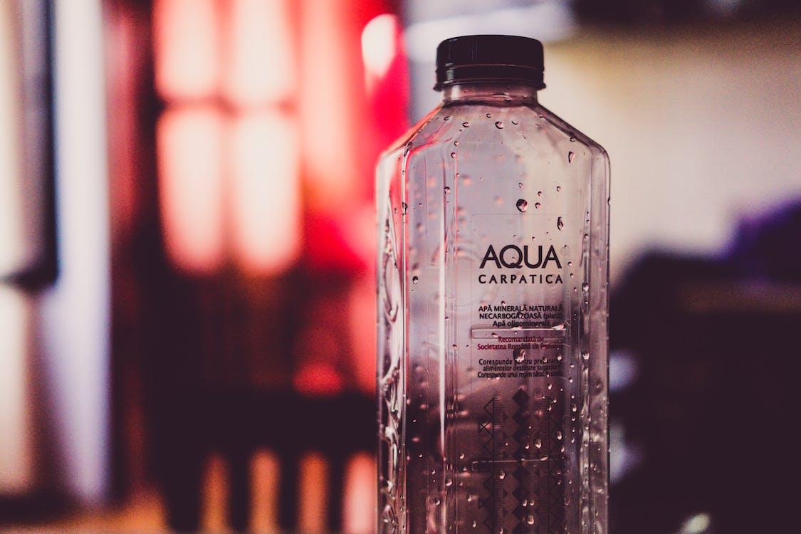 agua, agua mineral, botella
