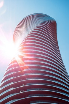 Free stock photo of city, building, architecture, curves