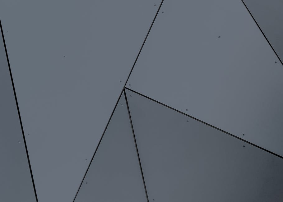Abstract architecture building exterior geometric