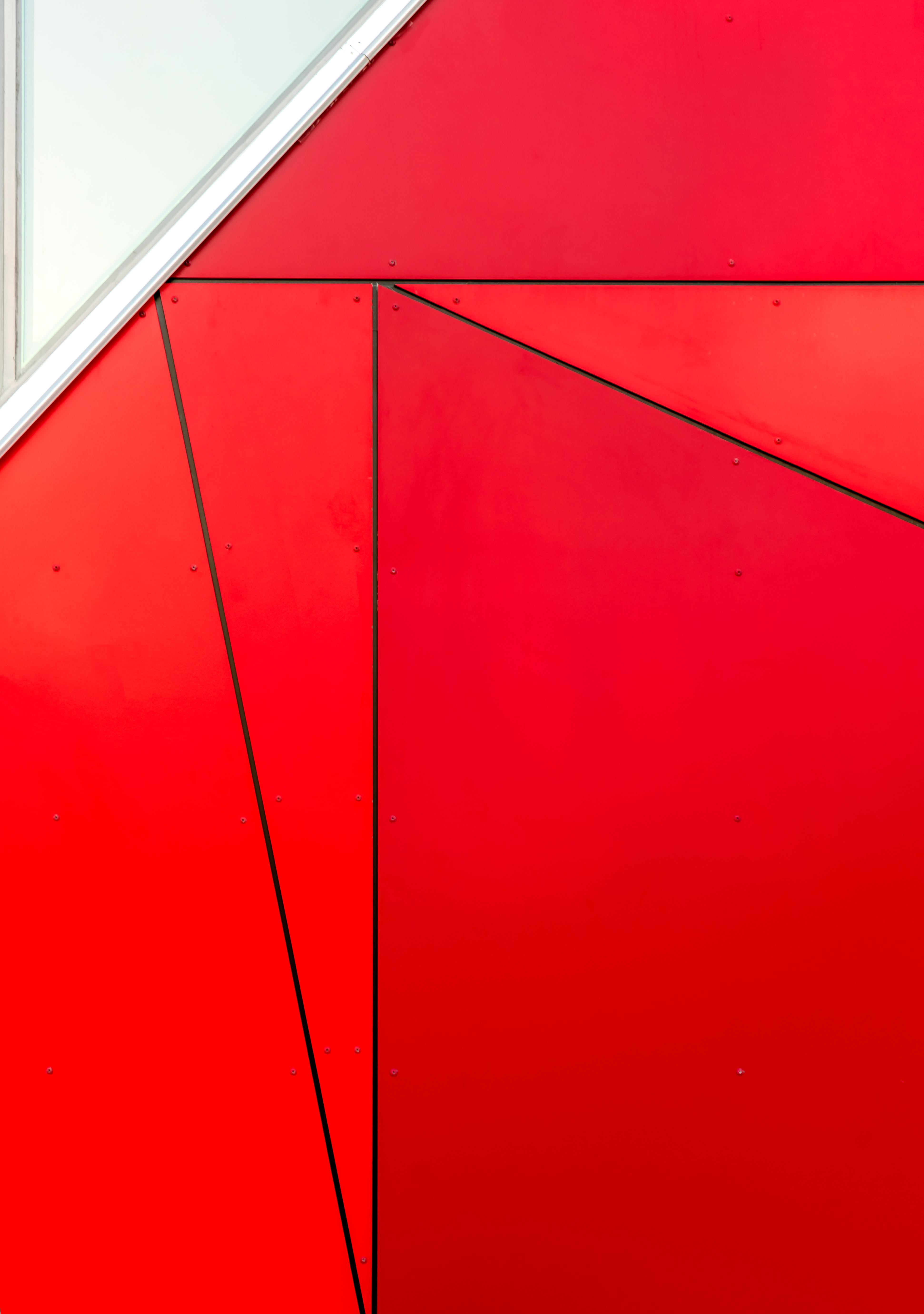 Free stock photo of red, art, pattern, wall