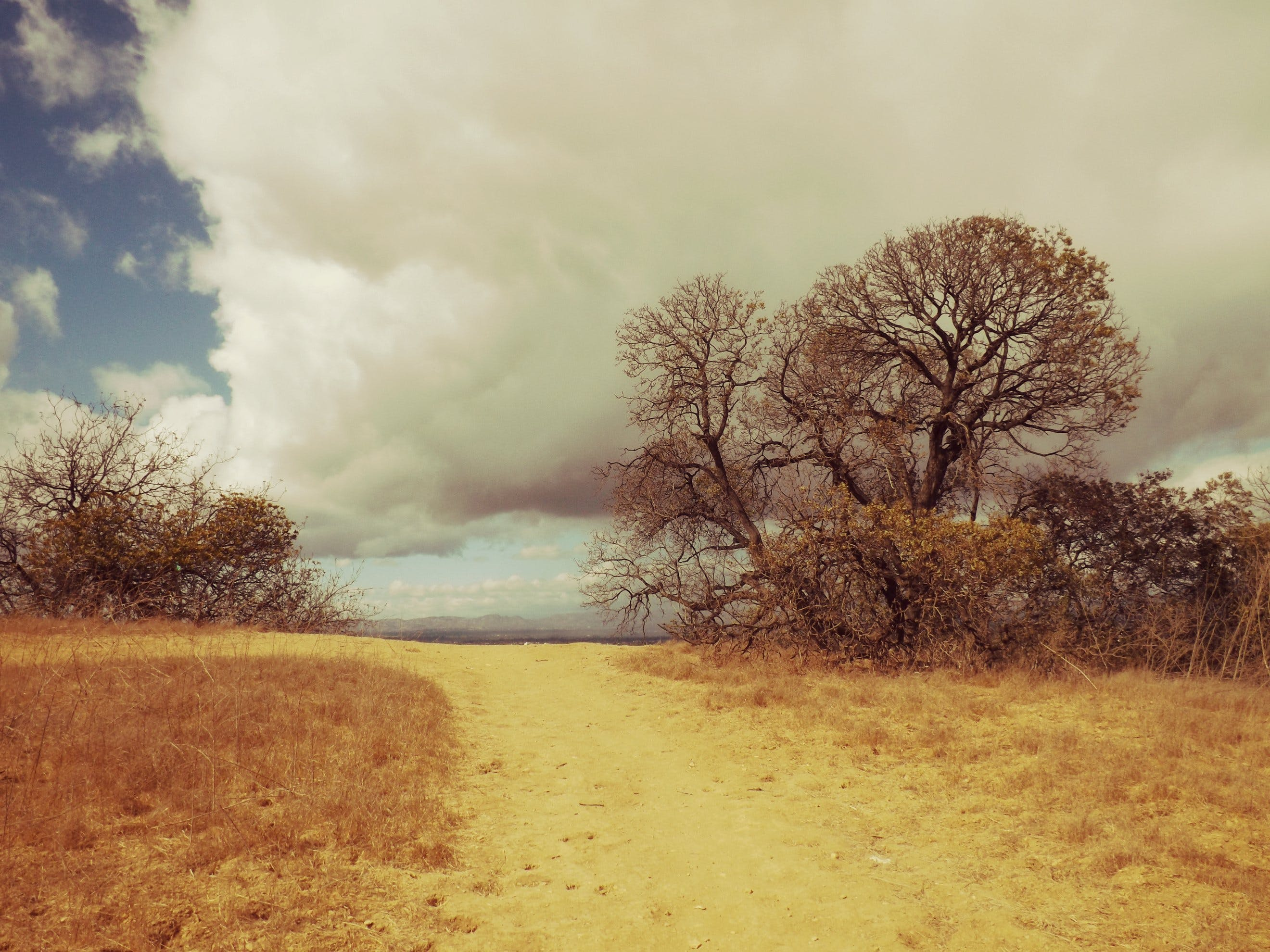 Free stock photo of clouds, hiking, hills, sky
