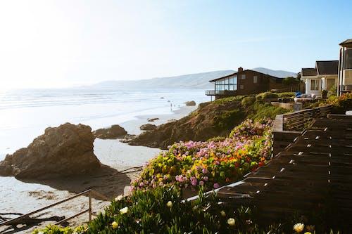 Photos gratuites de architecture, baie, bord de l'océan, bord de mer