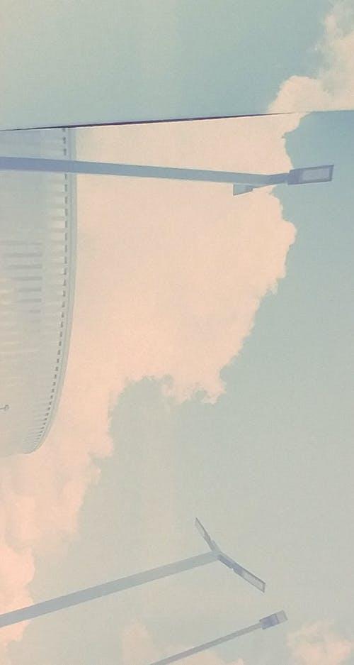 Photos gratuites de ciel bleu, film 35mm, fond d'art