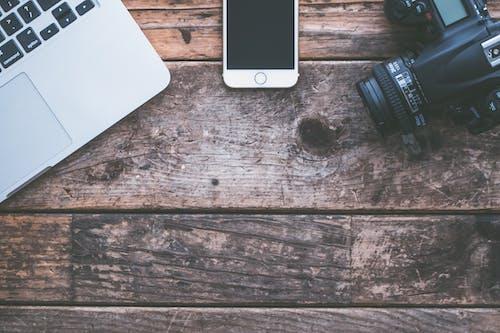 copyspace, 기술, 나무, 노트북의 무료 스톡 사진