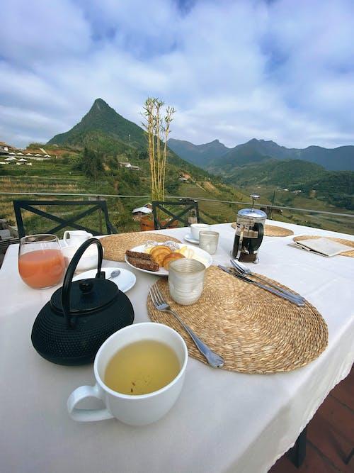 คลังภาพถ่ายฟรี ของ ชา, ชาจีน, ถ้วยชา, อาหารเช้า
