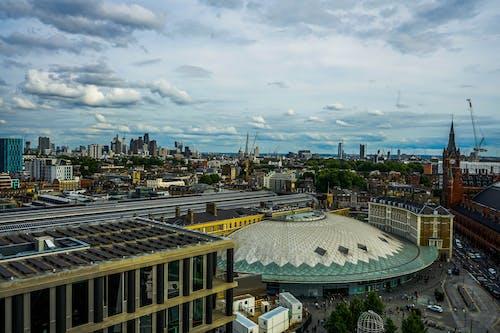 伦敦国王十字架, 伦敦地下, 伦敦天际线, 伦敦市 的 免费素材照片