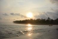 sea, dawn, sunny