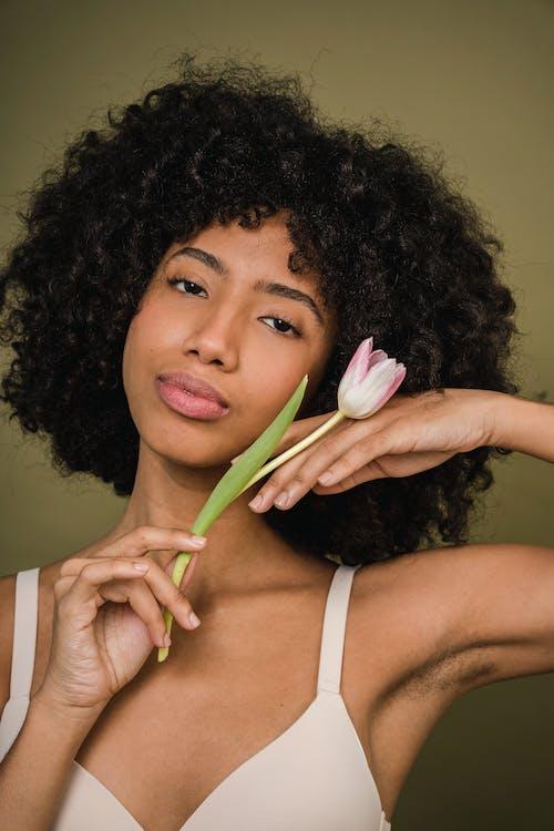 Kostenloses Stock Foto zu afro, afroamerikaner-frau, anmut, aussehen