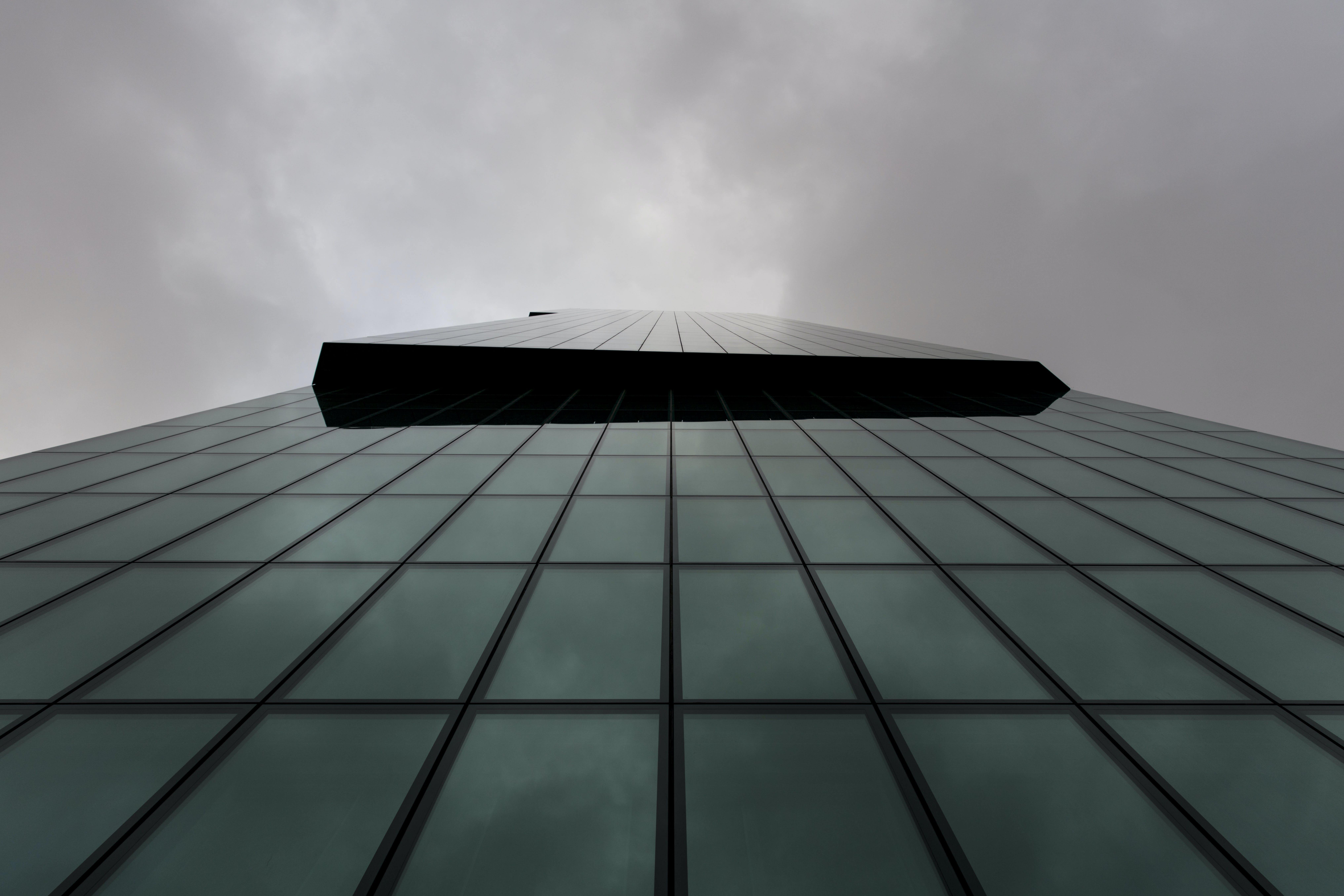 Free stock photo of cloudy, glass, high-rise, slice