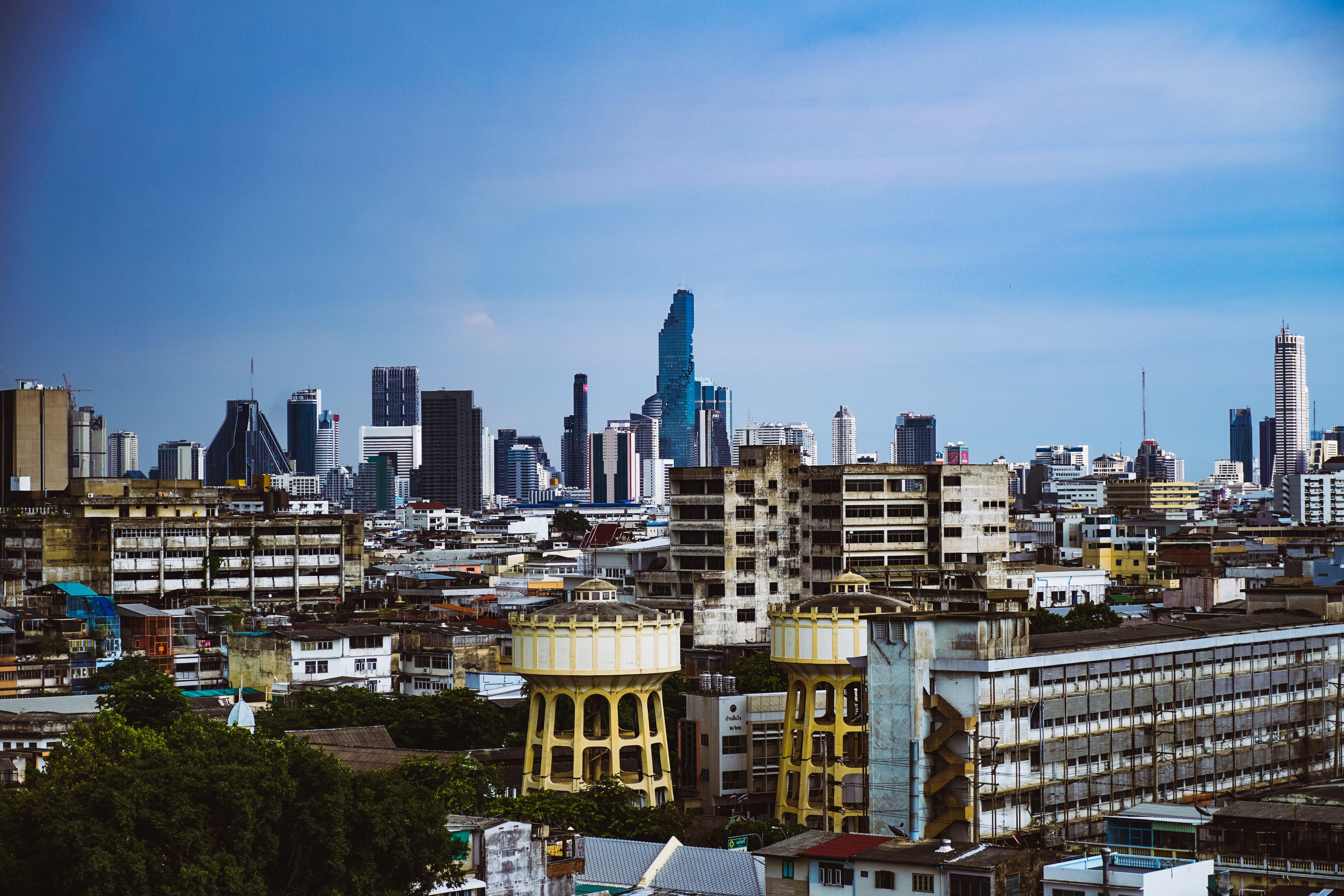 Free stock photo of Bangkok, blue, city, old