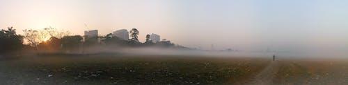 Бесплатное стоковое фото с восход, зима, игровая площадка