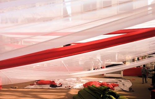 Бесплатное стоковое фото с палатка, подготовка к мероприятию, цвета