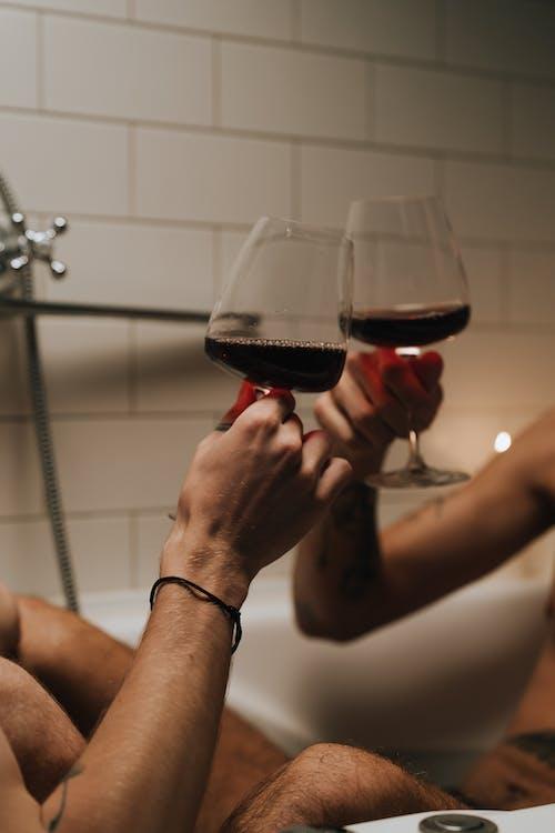 Darmowe zdjęcie z galerii z alkohol, czerwone wino, drink
