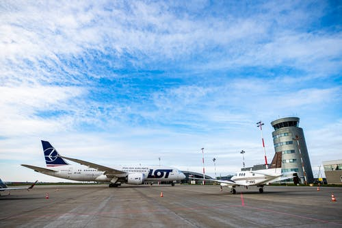 White Passenger Plane on Airport