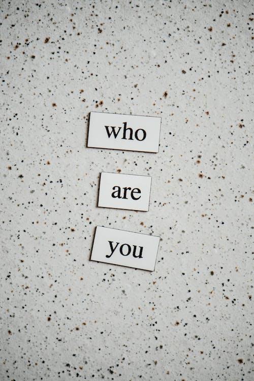 who are you, Markenpersönlichkeit, Identität